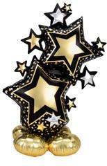 Black & Gold Star, Airloonz Balloon