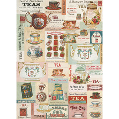 Vintage Tea Wrapping Paper
