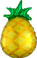 "Tropical Pineapple balloon, 21"""