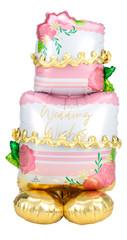 "Wedding Cake Airloonz Balloon, 52"""