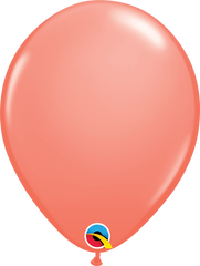"Coral Balloons, 11"""