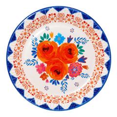 Boho Spice Floral Plates, Large