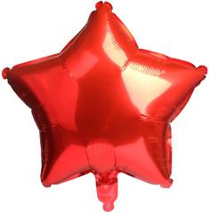 "Red Star Balloon, 17"""