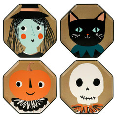 Vintage Halloween, Plates