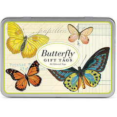 Butterflies Gift Tags