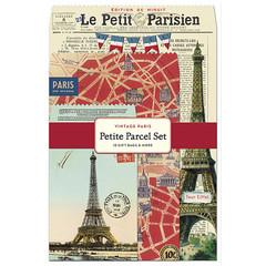 Petite Parcel: Vintage Paris Gift Wrap Set