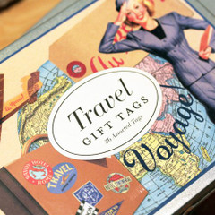 Vintage Travel Gift Tags