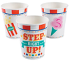 Circus Under the Big Top, Beverage Cups