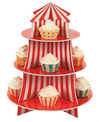 Circus Under the Big Top, Cupcake Stand