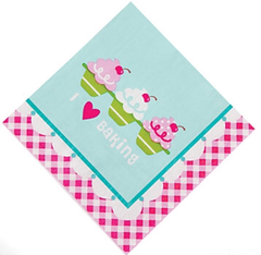 [SALE] Birthday Bakery Party, Napkins