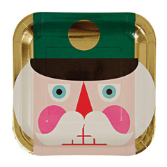 Nutcracker Plates, Large