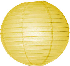 Pretty Paper Lanterns, Yellow