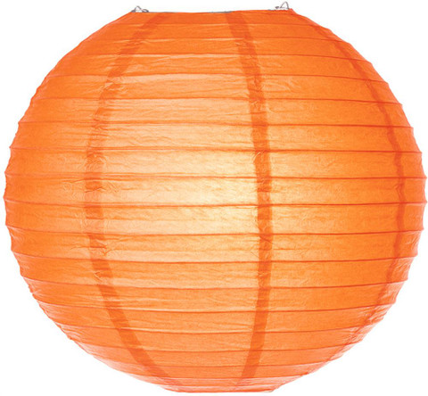 Pretty Paper Lanterns, Orange