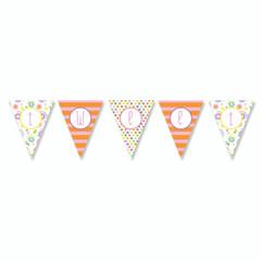 Garden Party Banner, Tweet Tweet