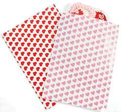 Pink and Red Heart Treat Bag