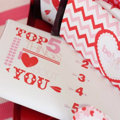 Valentine's Candy Wrappers