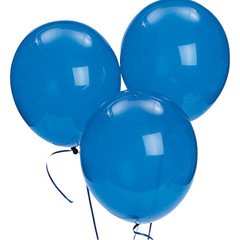 Blue Latex Balloons
