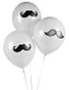 Mustache Latex Balloons