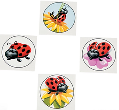 [SALE] Ladybug Love Temporary Tattoos