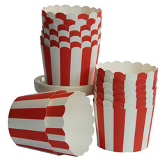 [SALE] Baking / Treat cups, Red Stripe