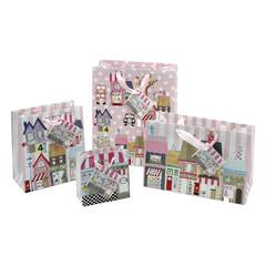 Shop 'til you drop Gift Bag, Medium Horizontal