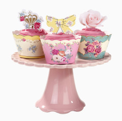Afternoon Tea Cupcake Wrappers & Toppers