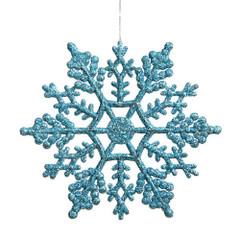 [SALE] Frozen Glitter Snowflake, Blue