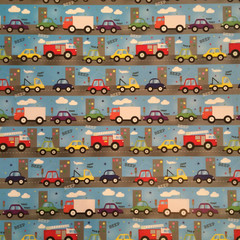 Beep, Beep Wrapping Paper