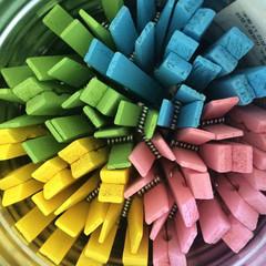 Retro Wooden Clothespins
