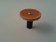 "Small Leather Honing Disk (25.4mm/1"")"