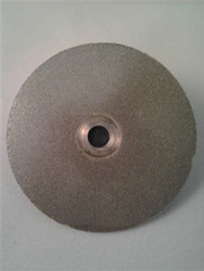 "400 grit 51mm (2"") Diamond Disk (""D"" Shaft)"