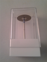 ".25mm (.01"") thick 350grit diamond cutoff wheel"