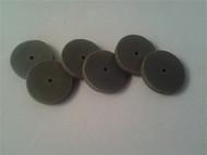 """22.2mm (7/8"""") x 1/8"""" black RSC disk 6 pack."""