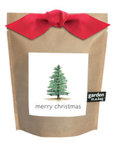 Garden-in-a-bag Christmas Tree