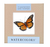 "Watercolors Greeting Card Box Set (5x5"")"