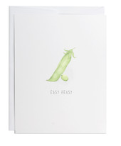 Easy Peasy Greeting Card