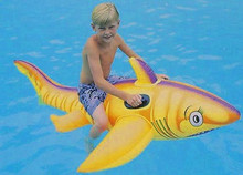 "73"" Orange Tiger Shark Rider"