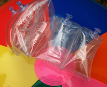 "7.5"" x 7.5"" Inflatable Arm Bands - Floaties - Crystal Clear"