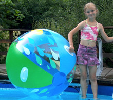 "48"" `Raindrop` Beach Ball"