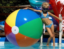 "48"" 7 Color Beach Ball - OMS Clone!"