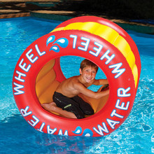 "45"" x 42"" Inflatable Water Wheel Habitat"