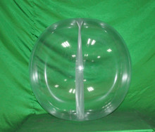 "42"" 6 Panel Clear GLOW STICK or SPRINKLER Beach Ball w/ Clear Frost Tube"