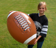 "36"" SPORTS Football Beach Ball"