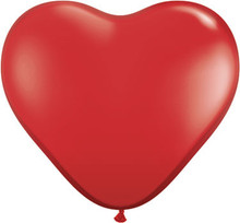 "36"" Red VALENTINES DAY Heart Balloon - Latex - 2 PACK!"