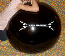 "36"" METALLICA / DEATH MAGNETIC Beach Ball - RARE!"