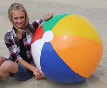 "36"" 6 Color Traditional Beach Ball"