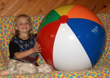 "36"" 6 Color Beach Ball - IB-36 - China"