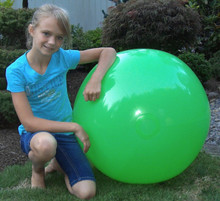 "36"" 1 Color Lime Green Beach Ball"