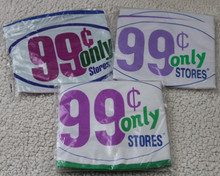 """24"""" 99 CENTS ONLY STORES Beach Ball Lot - Three Different Styles/Years!"""