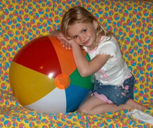 "24"" Six Color Beach Balls - Six Pack!"